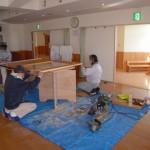 幼稚園 建具修繕