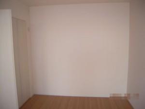 ダイニング奥の壁面