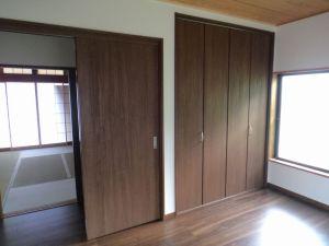 和室建具と収納改修