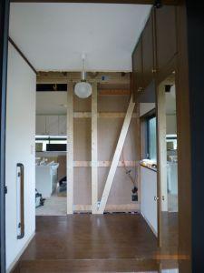 補強梁、耐震パネル
