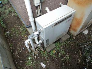 給湯器交換工事