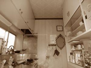 キッチンリフォーム 無垢
