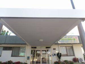玄関ポーチ屋根改修工事