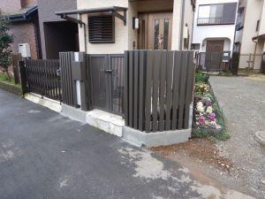 ブロック塀倒壊予防工事