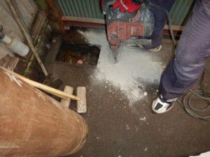 漏水修繕工事