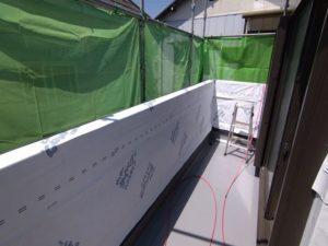 雨漏り ベランダ壁