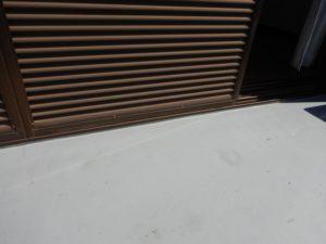 雨漏り ベランダ編